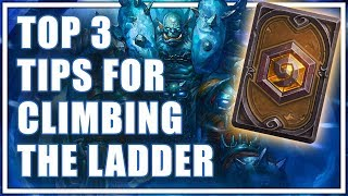 Download Top 3 Tips for Climbing the Hearthstone Ladder - How to Get Higher Ranks Video