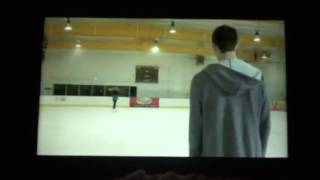 Download Scott trying to ice skate on teen wolf Video