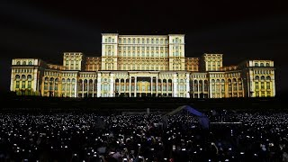 Download iMapp 555 Bucharest Building Projection Mapping by Maxin10sity Video