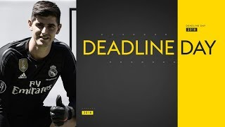 Download Transfer Deadline Day | Courtois to Real, Mina & Gomes to Everton & Sanchez to West Ham Video