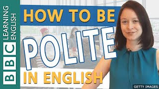 Download Speaking: Being polite - how to soften your English Video