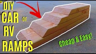 Download How To Make Easy DIY Car or RV Ramps -Jonny DIY Video