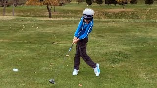 Download What a 12 Yr old Does to Prepare for Golf Season. Video