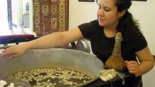 Download Silk Thread from Silkworm Cocoons Video