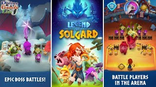 Download Legend of Solgard Android/iOS Gameplay ᴴᴰ Video