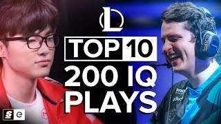 Download The Top 10 200 IQ League of Legends Plays Video