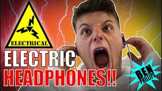 Download ELECTRIC HEADPHONE **PRANK!** NEARLY KILLED GRANDAD! Video