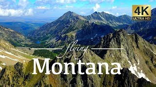 Download Montana By Drone - Mystic Lake, Hyalite Canyon, Glacier National Park & More 4K Travel Drone Footage Video