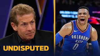 Download Skip Bayless: The Thunder are a bigger threat to the Warriors than the Rockets | UNDISPUTED Video