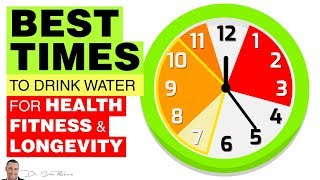 Download 🚰 Best Times To Drink Water For Health, Fitness & Longevity Video