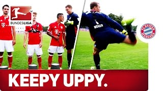 Download Keepy Uppy Challenge - FC Bayern München Video