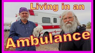 Download Converting an Ambulance Into a Tiny Home on Wheels Video