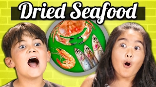 Download KIDS vs. FOOD - DRIED SEAFOOD (Shrimp, Squid, Sardines!!) Video