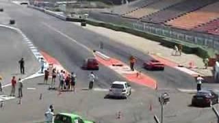 Download VW Golf R32 Twinturbo vs. Ferrari Video