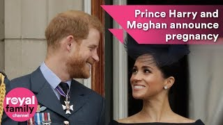 Download Prince Harry and Meghan announce pregnancy in Sydney Video
