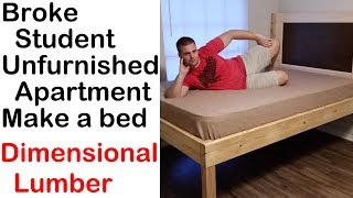 Download Building a Full XL bed from Matthias Wandel's bed plans Video
