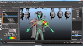 Blend Shape Deformer in Autodesk Maya Free Download Video