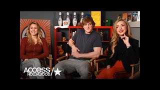 Download Lia Marie Johnson, Logan Paul & Peyton List Describe 'The Thinning' | Access Hollywood Video