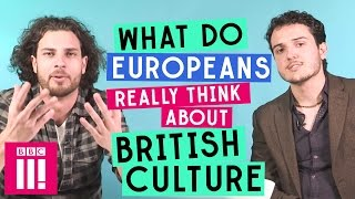 Download What Do Europeans Really Think About British culture? Video