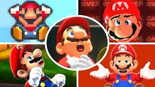 Download Evolution of Mario Deaths and Game Over Screens (1981-2017) Video