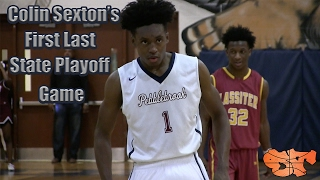 Download Colin Sexton's First Last State Playoff Game | Pebblebrook vs. Lassiter Highlights Video