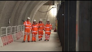 Download Lord Ahmad & Colombian delegation visit Crossrail Video