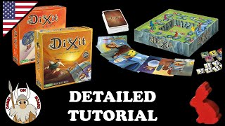 Download How to play Dixit & Dixit Odyssey Detailed Tutorial (English) Best Board Game 2010 -Games On Board- Video