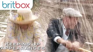 Download Hyacinth and Richard Get Soaked   Keeping Up Appearances Video