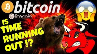 Download ⏲BITCOIN IS TIME RUNNING OUT ?⏲bitcoin litecoin price prediction, analysis, news, trading Video