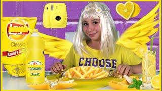 Download 24 SAAT BOYUNCA HERŞEY TEK RENK Mor & Sarı (Mor Saç-Sarı Kahvaltı- Sarı Saç) Video