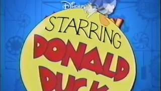 Download Starring Donald Duck Montage (Mickey Mouse Works) Video