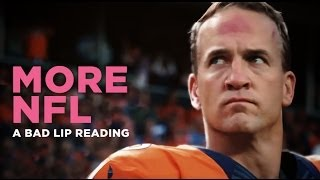 Download ″MORE NFL″ — A Bad Lip Reading of The NFL Video