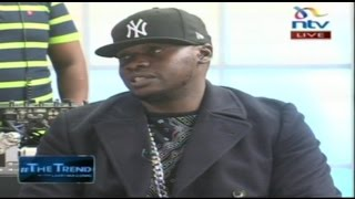 Download Khaligraph Jones introduces his girlfriend, his ego and his accent - #theTrend Video