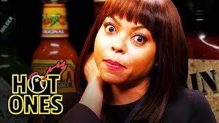 Download Taraji P. Henson Needs a Stunt Double to Eat Spicy Wings | Hot Ones Video