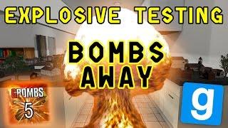 Download BOMBS AWAY 4 | Gmod Explosives Testing | Fridge VS Oven!!! Video