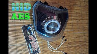 Download AES HID Projector installation into New Vixion / pemasangan Projector HID AES di New Vixion Video