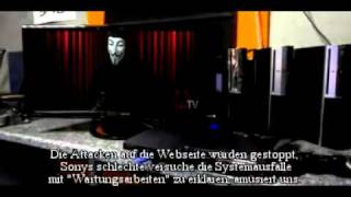 Download Anonymous: Message to Sony (Deutsch untertitelt) Video