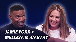 Download Jamie Foxx Talks Moms with Melissa McCarthy    OFF SCRIPT a Grey Goose Production Video