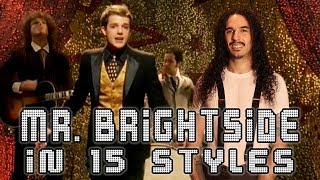 Download The Killers - Mr. Brightside in 15 Styles Video