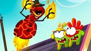 Download Om Nom Stories - Super-Noms: Burnman (Cut the Rope) Kedoo ToonsTV Video