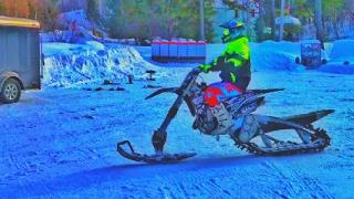 Download Red Camera - Snow Bike! Video