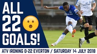 Download ALL 22 GOALS! | ATV IRDNING 0-22 EVERTON: MARCO SILVA'S FIRST GAME Video