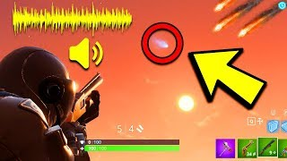 Download FORTNITE METEOR SECRET SOUND MESSAGE! METEOR HITTING TILTED TOWERS!? (Fortnite Battle Royale) Video