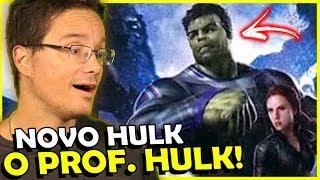 Download É assim que PROFESSOR HULK surgirá em VINGADORES 4! Video