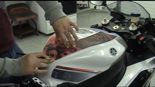 Download Auto Trim DESIGN Precut Motorcycle Graphic Installation How-To Tips and Tricks Video