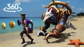 Download Temple Run Pirate Cove In Real Life (Virtual Reality 360°) Video