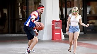 Download Playing Basketball with Strangers Video