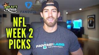 Download DraftKings + FanDuel NFL Week 2 Picks Video