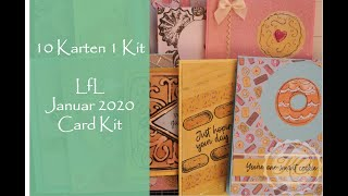 Download 10 Cards 1 Kit LfL Januar 2020 Card Kit Video
