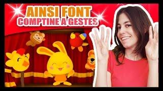 Download Ainsi Font Font Font les Petites Marionnettes - Comptines à gestes Méli et Touni - TITOUNIS Video